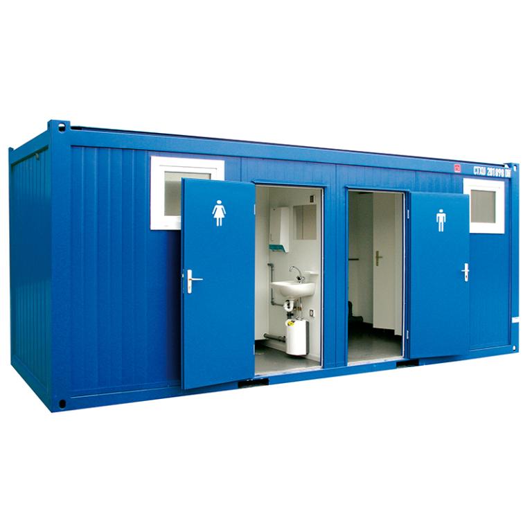 Bungalow sanitaire de chantier 20 Pieds