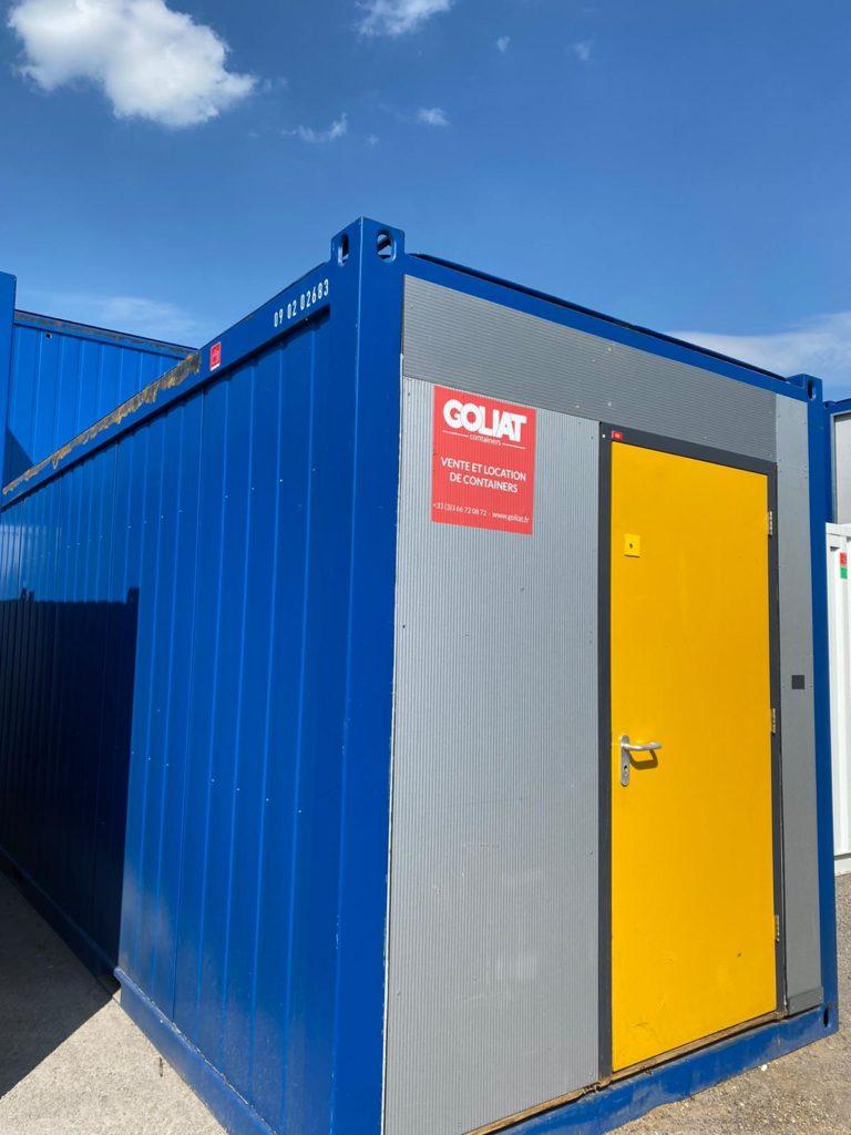 Acheter Bungalow double compartiment GOLIAT Containers France