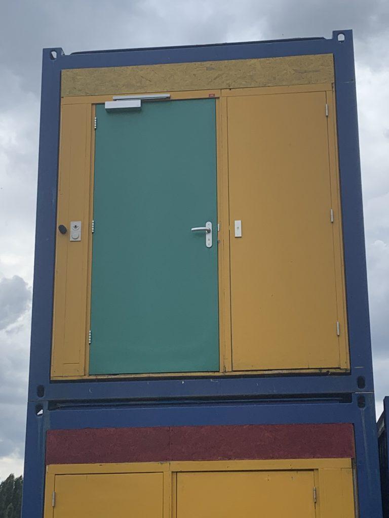 Module Chambre 20 Pieds (6m) + WC + Douche + Lave Main n°G16