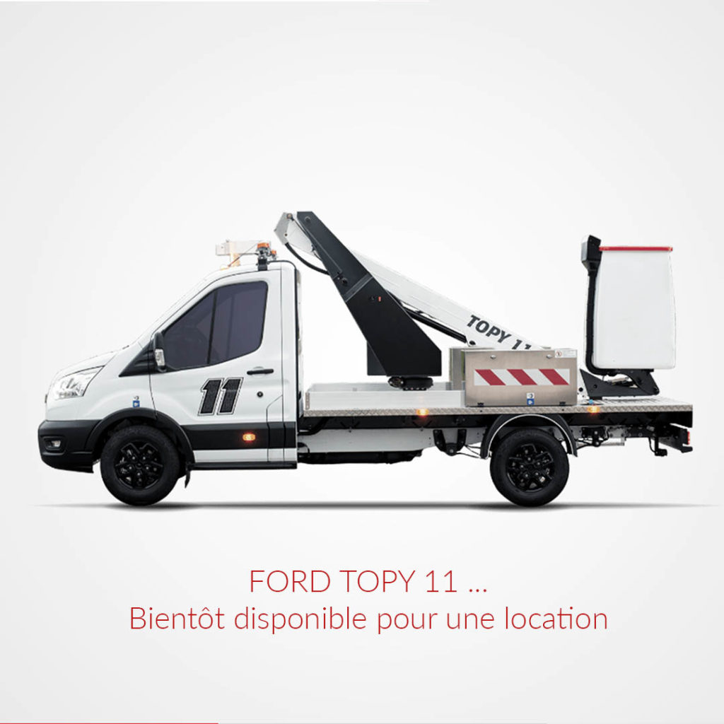 Ford Topy 11 Camion Nacelle Goliat Location mobile view